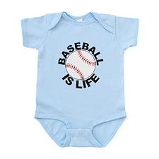 Baseball Is Life Body Suit
