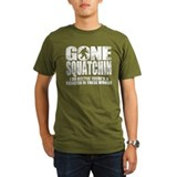 Gone Squatchin (distressed faded) T-Shirt