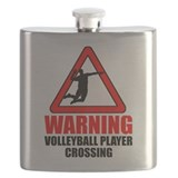 Warning: Volleyball Player Flask