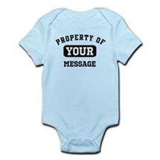 Personalized PROPERTY OF... Infant Bodysuit