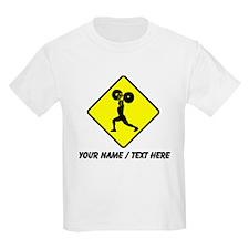 Weightlifter Crossing T-Shirt