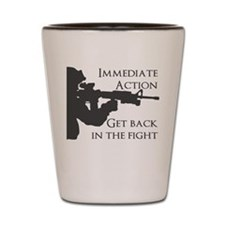Immediate action M16 Shot Glass