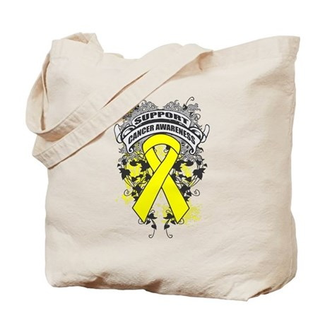 Support Testicular Cancer Cause Tote Bag