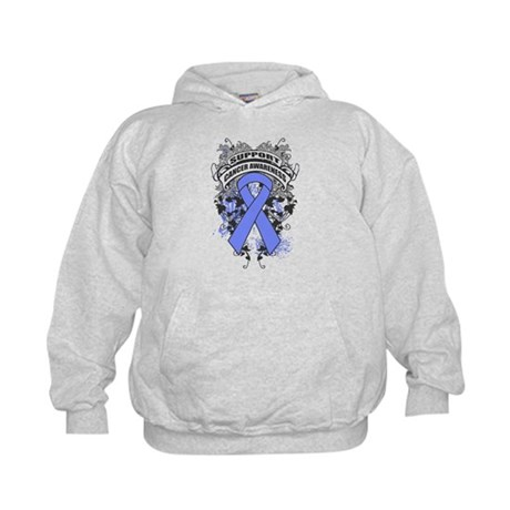 Support Stomach Cancer Cause Kids Hoodie