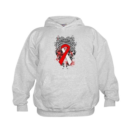 Support Squamous Cell Carcinoma Cause Kids Hoodie