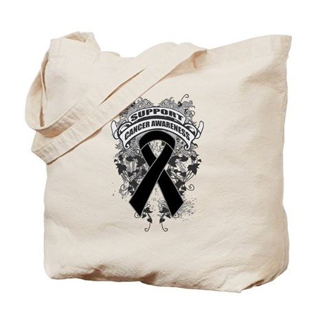 Support Skin Cancer Cause Tote Bag