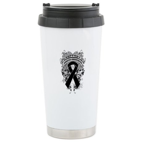 Support Skin Cancer Cause Ceramic Travel Mug