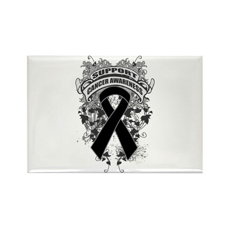 Support Skin Cancer Cause Rectangle Magnet