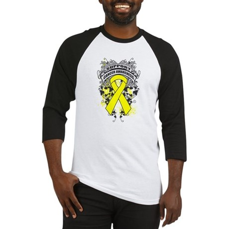 Support Sarcoma Cause Baseball Jersey