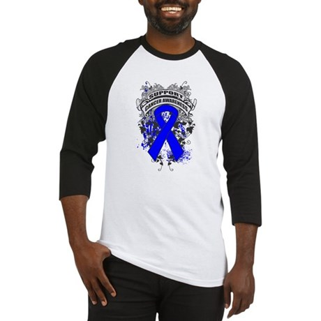 Support Rectal Cancer Cause Baseball Jersey