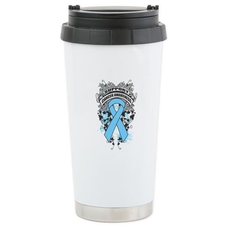 Support Prostate Cancer Cause Ceramic Travel Mug