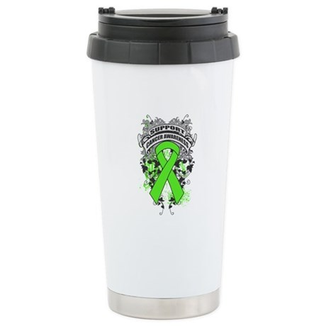 Support Lymphoma Cause Ceramic Travel Mug