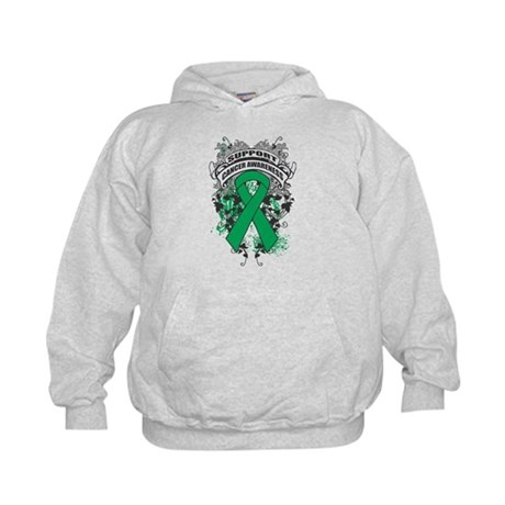 Support Liver Cancer Cause Kids Hoodie
