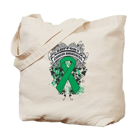 Support Liver Cancer Cause Tote Bag