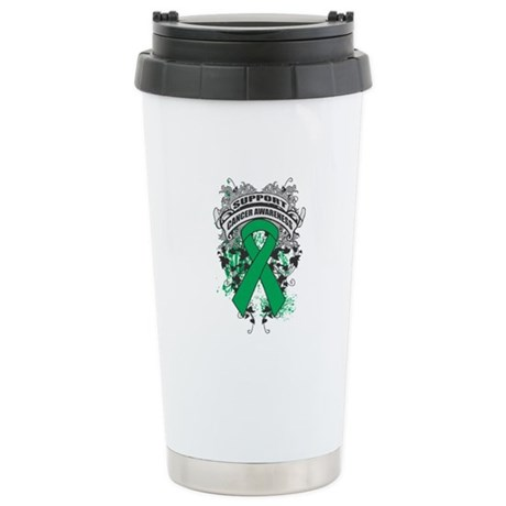 Support Liver Cancer Cause Ceramic Travel Mug