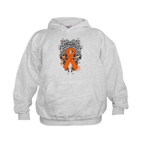 Support Leukemia Cause Kids Hoodie