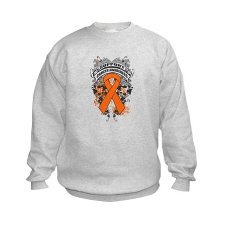 Support Leukemia Cause Kids Sweatshirt