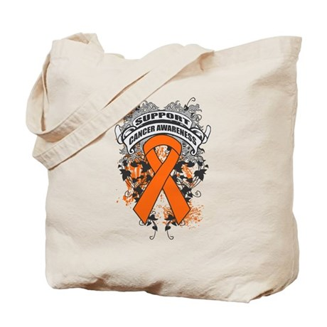 Support Kidney Cancer Cause Tote Bag