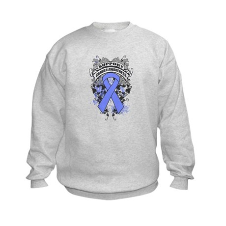 Support Intestinal Cancer Cause Kids Sweatshirt
