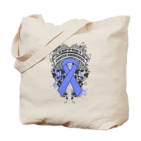 Support Intestinal Cancer Cause Tote Bag