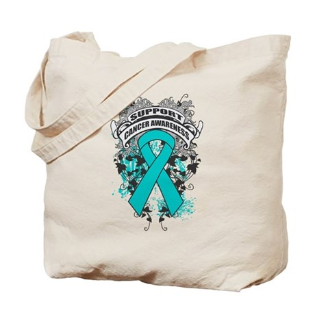 Support Gynecologic Cancer Cause Tote Bag