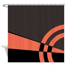 Peach Majestic Shower Curtain