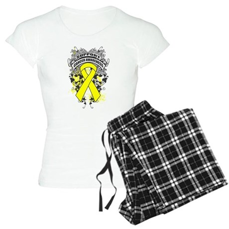 Support Ewings Sarcoma Cause Women's Light Pajamas