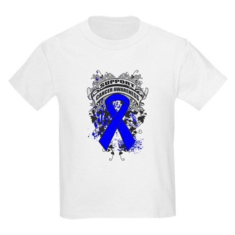 Support Colon Cancer Cause Kids Light T-Shirt