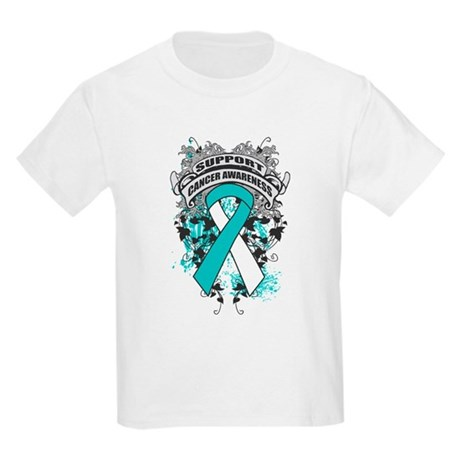 Support Cervical Cancer Cause Kids Light T-Shirt