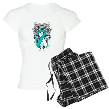 Support Cervical Cancer Cause Women's Light Pajama