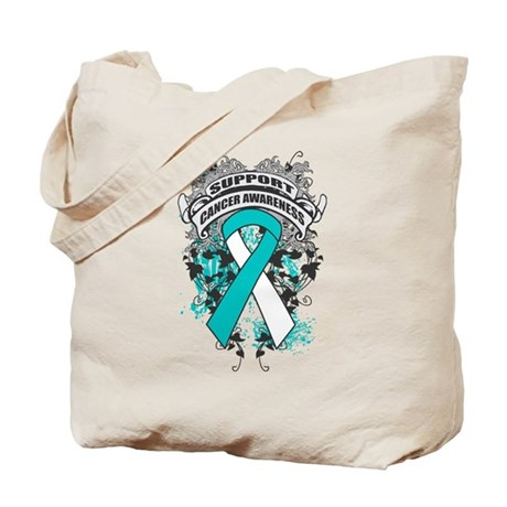 Support Cervical Cancer Cause Tote Bag