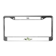 Rescue Logo License Plate Frame