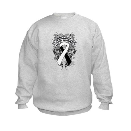 Support Carcinoid Cancer Cause Kids Sweatshirt