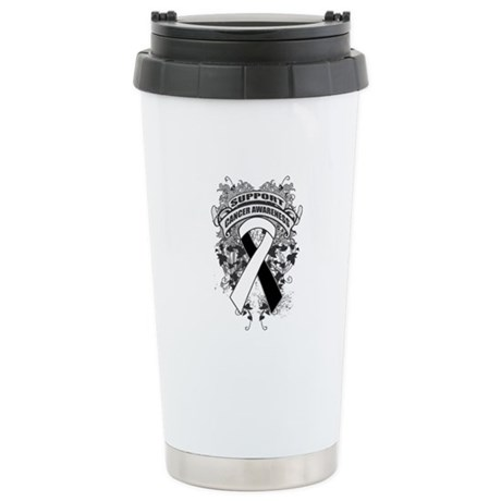 Support Carcinoid Cancer Cause Ceramic Travel Mug