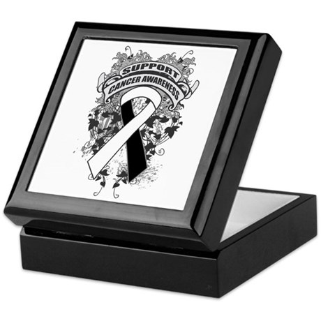 Support Carcinoid Cancer Cause Keepsake Box