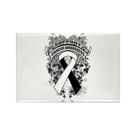 Support Carcinoid Cancer Cause Rectangle Magnet