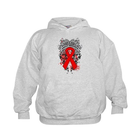 Support Blood Cancer Cause Kids Hoodie