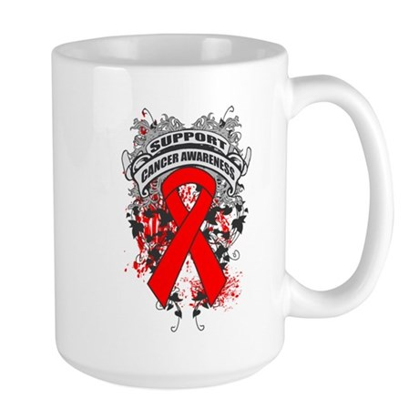 Support Blood Cancer Cause Large Mug