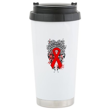 Support Blood Cancer Cause Ceramic Travel Mug