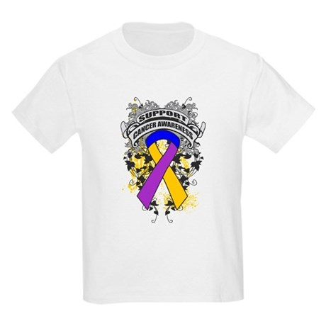 Support Bladder Cancer Cause Kids Light T-Shirt