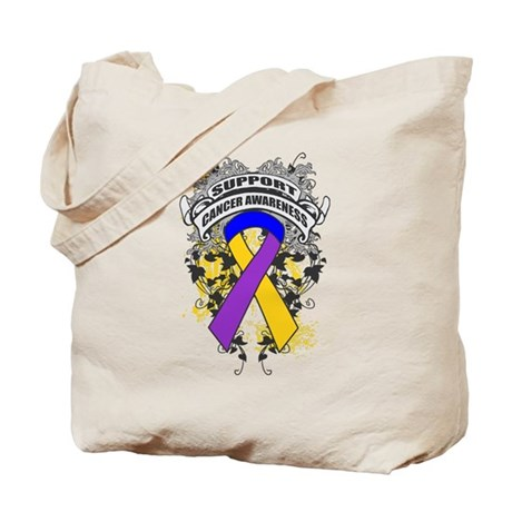 Support Bladder Cancer Cause Tote Bag