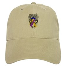 Support Bladder Cancer Cause Baseball Cap