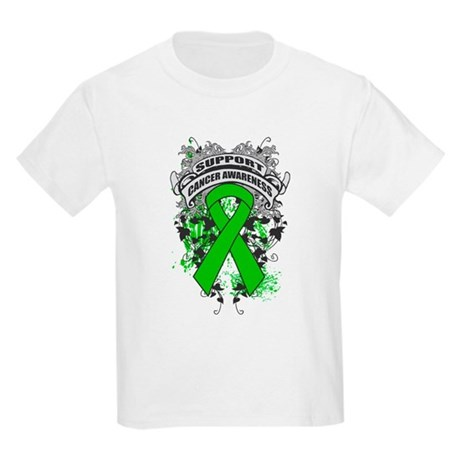 Support Bile Duct Cancer Cause Kids Light T-Shirt
