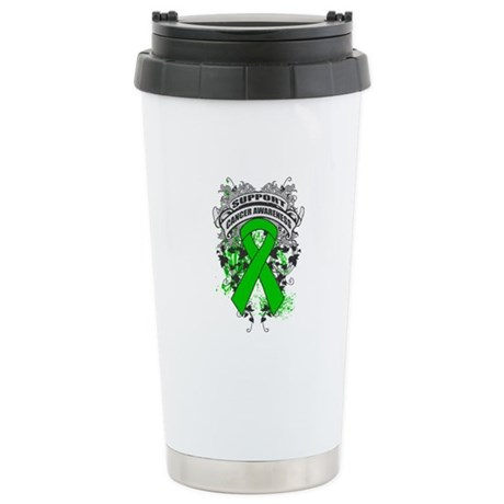 Support Bile Duct Cancer Cause Ceramic Travel Mug