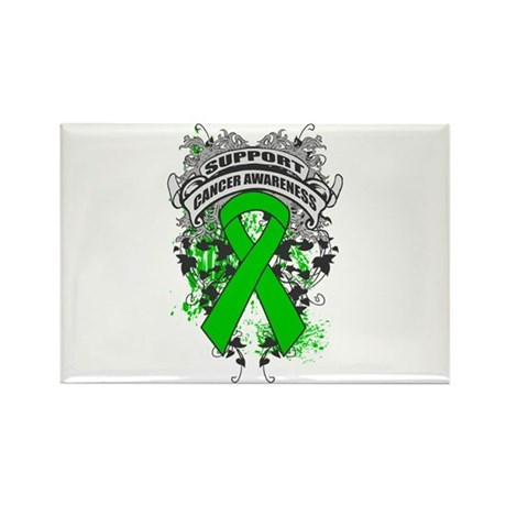 Support Bile Duct Cancer Cause Rectangle Magnet