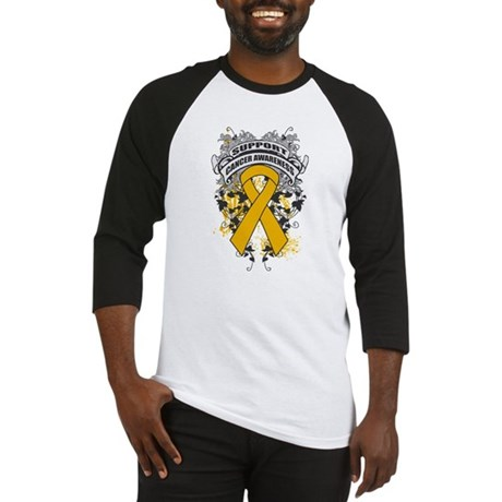 Support Appendix Cancer Cause Baseball Jersey