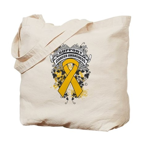 Support Appendix Cancer Cause Tote Bag