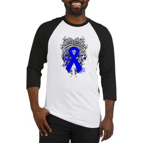 Support Anal Cancer Cause Baseball Jersey