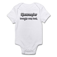 Sexy: Alexzander Infant Bodysuit