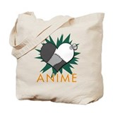 Love Anime Tote Bag